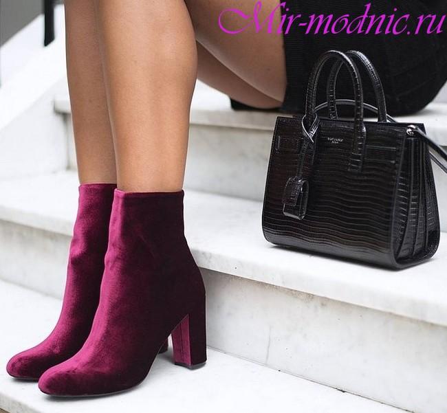Осенние ботинки женские 2018 года