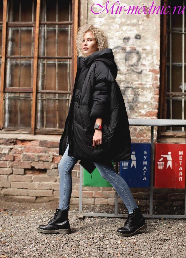 Модные пуховики зима 2018 женские