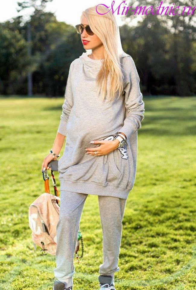 Мода для беременных весна лето 2018