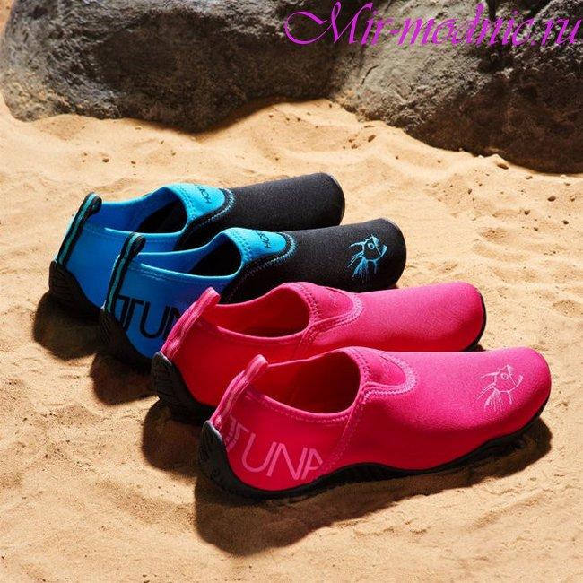 Пляжная обувь 2018 женская