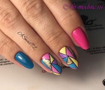Летний дизайн ногтей 2018 фото новинки красивый