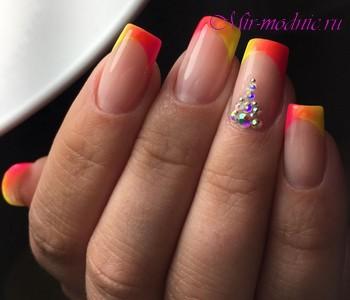 Дизайн ногтей френч 2018 фото новинки красивый летний