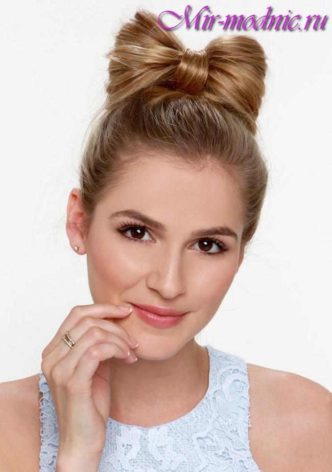 Модные укладки 2018 женские на средние волосы фото