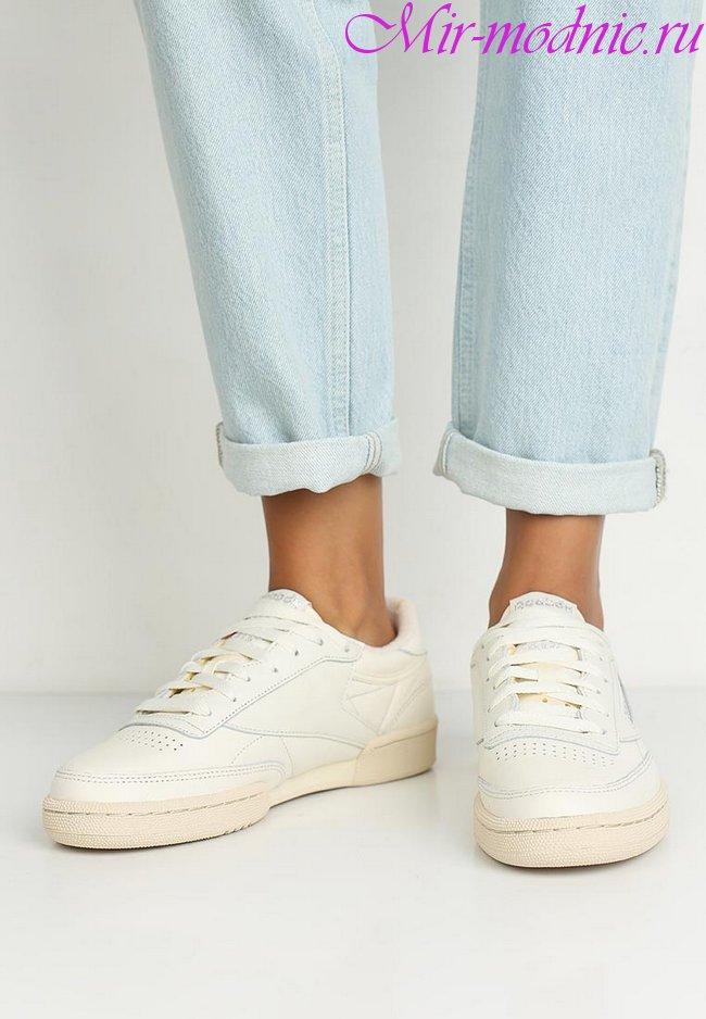Модные кеды женские 2019