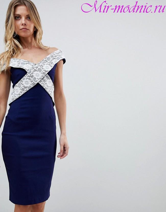 Модные платья зима 2018 фото фасон тенденции
