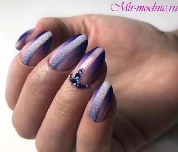 Дизайн ногтей осень зима 2018 года