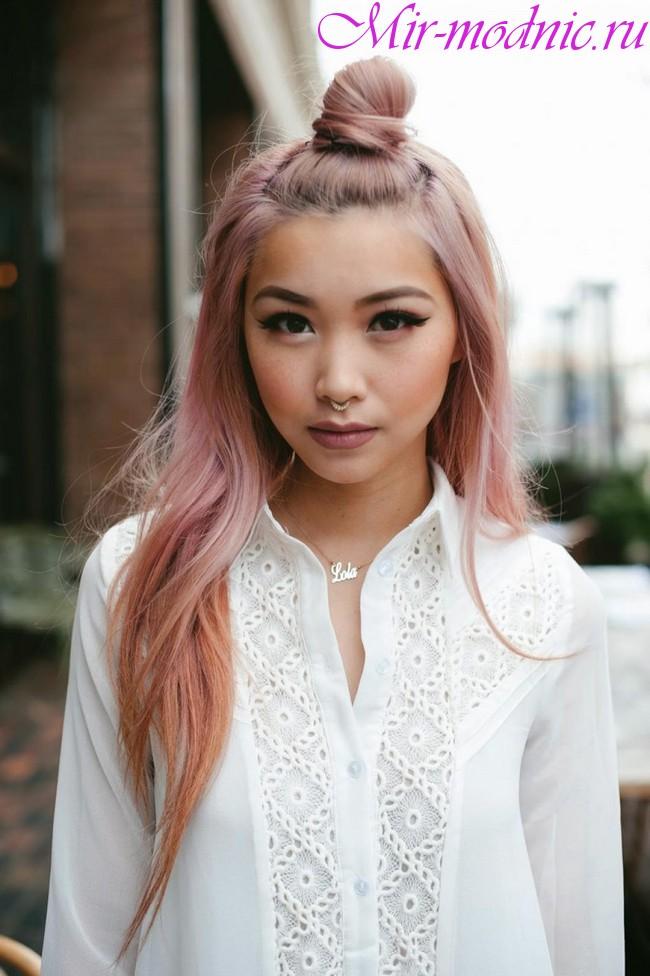 Модные прически 2019 женские на длинные волосы фото