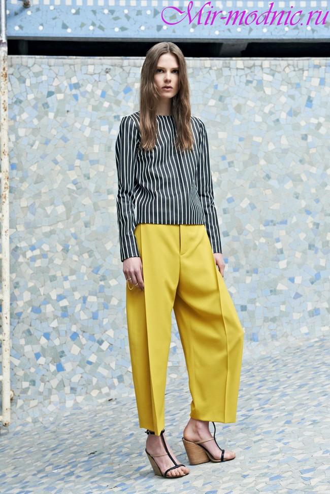 Женские брюки 2019 года модные тенденции фото
