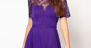 С чем носить фиолетовый фото