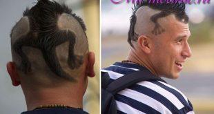 Мужские стрижки hair tattoo