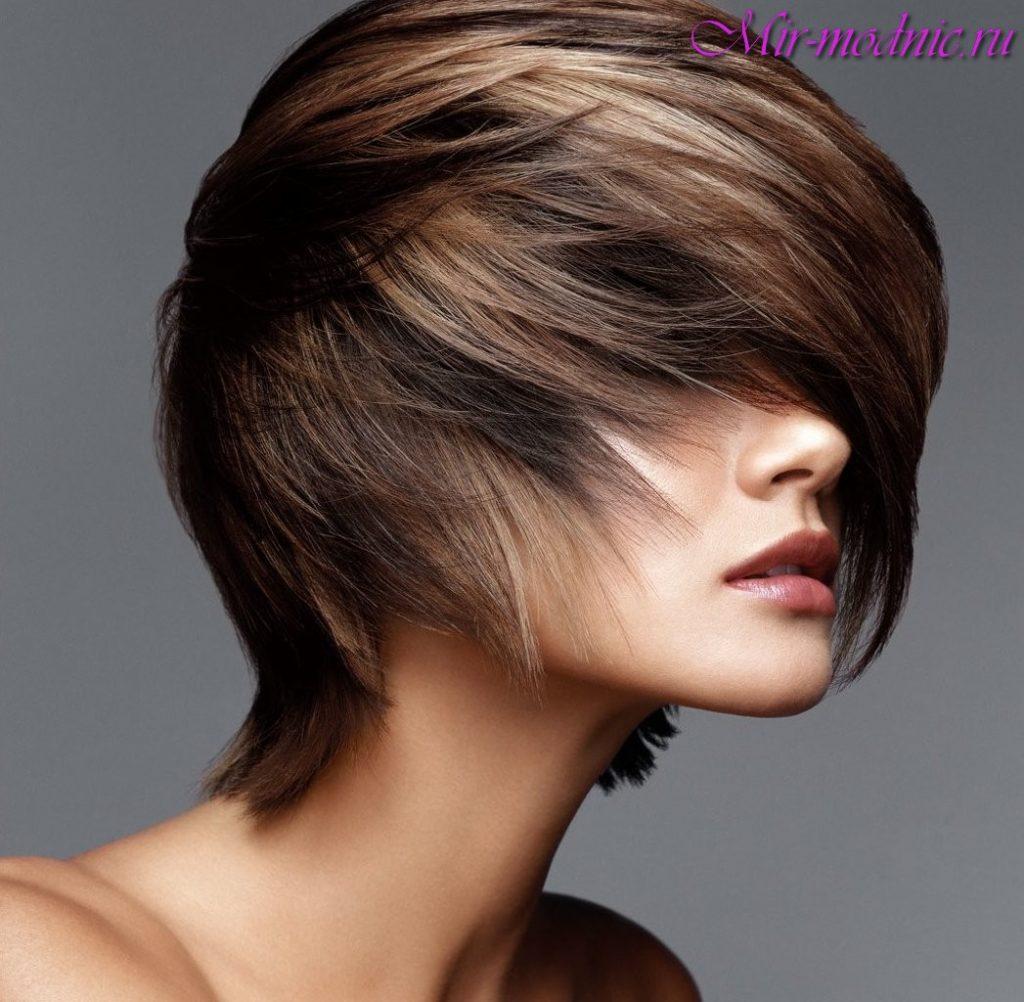 Стрижки для редких волос фото женские весёлого