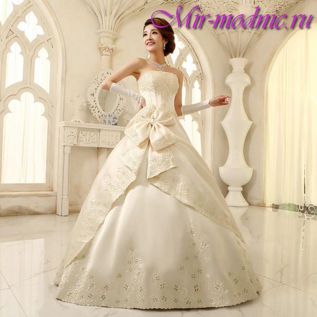 Свадебные платья 2017 модные тенденции фото