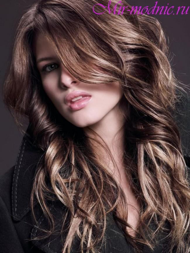 Модное окрашивание волос 2018 на длинные волосы