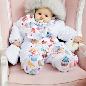 Комбинезон-трансформер для новорожденных осень