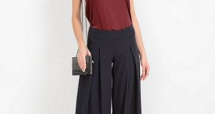 Широкие брюки 2018 года модные тенденции